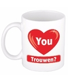 I love you mok beker trouwen 300 ml