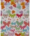 Inpakpapier bloemen print 18