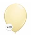 Ivoren ballonnen 25 stuks