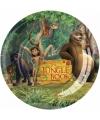 Jungle book borden 8 stuks