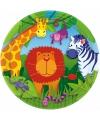 Jungle feestbordjes 23 cm