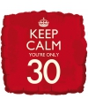 Keep calm folie ballon 30