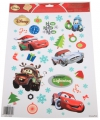 Kerst raamstickers disney cars