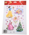 Kerst raamstickers disney princess