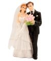 Klassiek bruidspaar taart decoratie