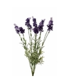 Kunst lavendel bloemen 40 cm donker paars