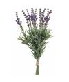 Kunst lavendel boeket 33 cm