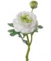 Kunst ranonkel wit 35 cm