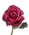 Kunst roos colin vintage roze 31 cm