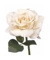 Kunst roos colin vintage wit 31 cm