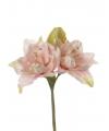 Kunstbloem amaryllis roze 41 cm