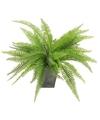 Kunstplant varen 33 cm groen in pot