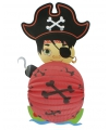 Lampion piraat 22 cm