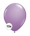 Lavendel ballonnen 15 stuks