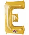 Letter e ballon goud 86 cm