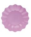 Lila paarse diepe bordjes 21 cm