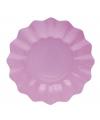 Lila paarse diepe bordjes 27 cm