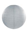 Luxe bol lampion grijs 35 cm