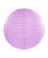 Luxe bol lampion lila 35 cm
