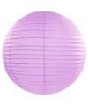 Luxe bol lampion lila 50 cm