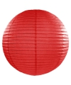 Luxe bol lampion rood 50 cm