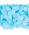 Luxe confetti 1 kilo kleur babyblauw