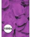 Luxe lila rozenblaadjes 1000 stuks