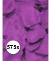 Luxe lila rozenblaadjes 575 stuks