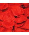 Luxe rode rozenblaadjes pakket