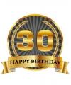 Luxe verjaardag mok beker 30 jaar