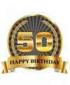 Luxe verjaardag mok beker 50 jaar