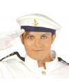 Marine baret met gouden scheepsanker