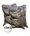 Mega zak confetti multikleuren ca 15 kg
