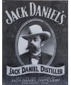 Metalen wandplaat jack daniels distiller