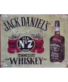 Metalen wandplaat jack daniels old no 7