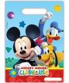 Mickey mouse feestzakjes 6 stuks