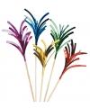 Mini palmboom cocktailprikkers 100 stuks