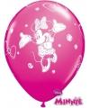 Minnie mouse ballonnen 6 stuks