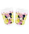 Minnie mouse feestbekers 200 ml