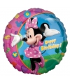 Minnie mouse folie ballon happy birthday