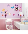 Minnie mouse gekleurde muur stickers