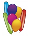 Mix van 50 ballonnen