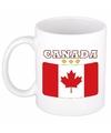 Mok beker canadese vlag 300 ml