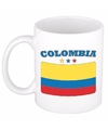 Mok beker colombiaanse vlag 300 ml