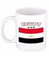 Mok beker egyptische vlag 300 ml