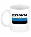 Mok beker estlandse vlag 300 ml