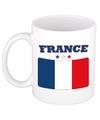 Mok beker franse vlag 300 ml