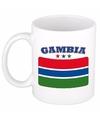 Mok beker gambiaanse vlag 300 ml