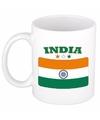 Mok beker indiase vlag 300 ml