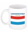 Mok beker luxemburgse vlag 300 ml
